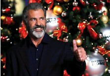 ?? (Eddie Keogh/Reuters) ?? ACTOR MEL GIBSON is back in the spotlight after a characterrehabilitation of sorts, at the London premiere of 'Daddy's Home 2' in November.
