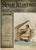 ??  ?? Key figure: the cover of Revue Illustrée with Chabrier at the piano, Paris 1887