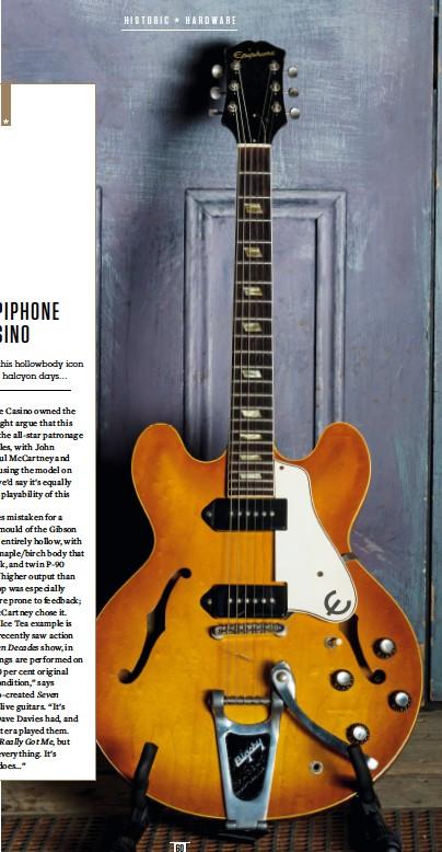 Pressreader Guitarist 2019 03 08 1963 Epiphone Casino