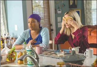 """?? Associated Press photo ?? This image released by Paramount Pictures shows Tiffany Haddish, left, and Rose Byrne in a scene from """"Like a Boss."""""""