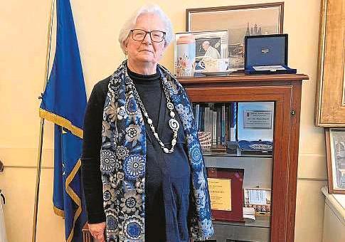 ?? CEDIDA POR PAOLA BINETTI ?? 0 La senadora asegura que el liderazgo femenino no está reñido con el rol de la mujer en la famlia.