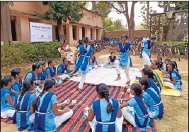 ??  ?? As of 2021, the programme targets 5.1 million students across five Indian states
