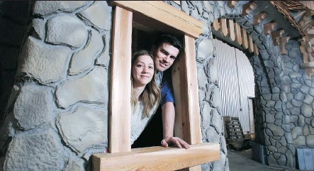 """?? PHOTOS: TED RHODES ?? Audy and Tyson Leavitt, owners of Charmed Playhouses, are juggling the rapidly growing business in Lethbridge. """"I never thought I would be building princess castles for a living,"""" Tyson says. """"Whenever I walk in here, I pinch myself."""""""