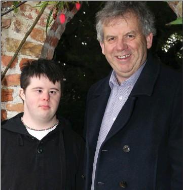 ??  ?? Conor and Michael O'Dowd.