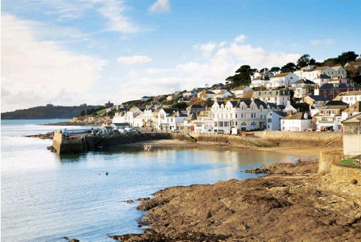 ??  ?? The pretty seaside village of St Mawes, where Marsden and his family used to live