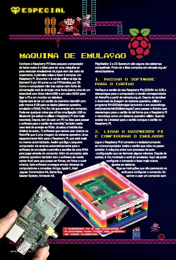 PressReader - Revista PCGuia Play: 2019-01-02 - MÁQUINA DE EMULAÇÃO
