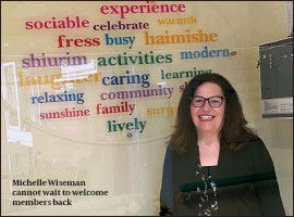 ??  ?? Michelle Wiseman cannot wait to welcome members back