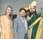 ??  ?? OF GREYS AND GOLDS: Louise Dornelles, Praveen Goel, Amit Ranjan