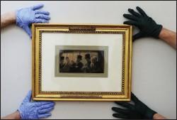 ??  ?? restore: In The Omnibus returned to Hugh Lane Gallery this week