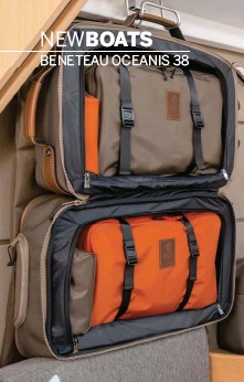 """Purpose-built hanging luggage from longchamp allows you to take your  """"lockers"""" back home with you when you re done sailing 2b533c7e8a787"""