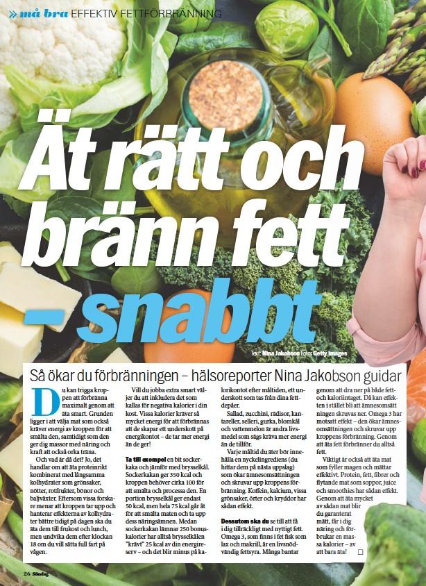 grönsaker som bränner fett
