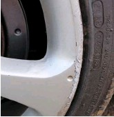 ??  ?? A set of 225/40 18 Maxxis tyres – made on the 24th week of 2018 – are fitted all-round. They shroud a set of Honda alloys, which aren't in the best condition, so we will get them refurbished to as-new condition.