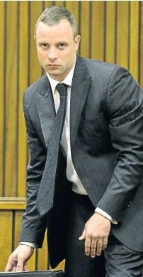 ?? Picture: GALLO IMAGES ?? MATE: Disabled athlete Oscar Pistorius has spent 10 months in jail for killing his girlfriend Reeva Steenkamp in 2013