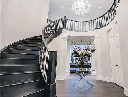 ??  ?? Ultima Custom Homes' Josephine in Watermark at Bearspaw won Best New Home $1.5 million-$2,299,999 in the 2015 SAM Awards.