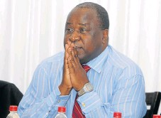 ??  ?? End of term: Tito Mboweni has been re­moved from the board of di­rec­tors of the New De­vel­op­ment Bank.