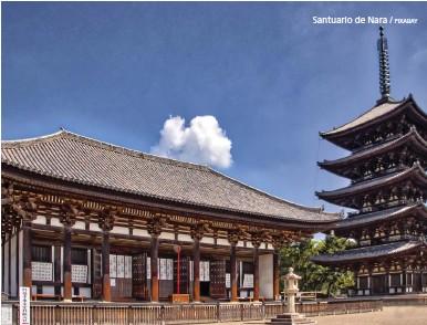 ?? PIXABAY ?? Santuario de Nara /