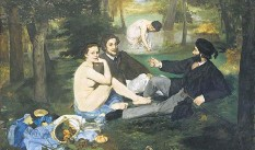 ?? Wiki Commons ?? Dear daughters Édouard Manet's oil 'Luncheon on the Grass'.