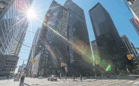 ?? RICK MADONIK TORONTO STAR FILE PHOTO ?? While retail and office buildings saw renewed interest in the second quarter, Canadian investment in those properties lagged behind other corners of the market.