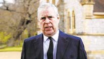 """??  ?? Lawyer for Britain's Prince Andrew (above) called sex abuse lawsuit by Jeffrey Epstein accuser """"an illegal action."""""""