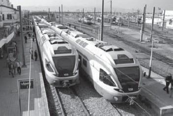 ??  ?? C'est encore une année blanche pour le transport ferroviaire