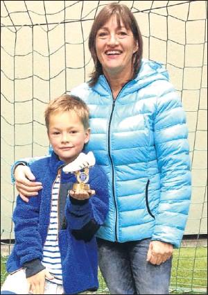 ?? Picture: Lomond Media. ?? Kathleen said son Scott was asleep when the thief struck.