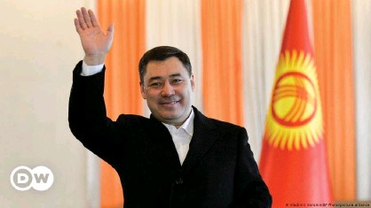??  ?? The constitutional reform could give Zhaparov the power to appoint judges and heads of law enforcement agencies