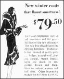 ??  ?? Portion of a Globe store advertisement, Nov. 12, 1929, The Scranton Times.