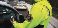 ??  ?? Ta konec tedna so imeli policisti obilo dela s pijanimi vozniki.