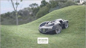 ?? Courtesy of Robin Autopilot USA ?? North Texas-based tech firm Robin Autopilot USA is buying a competitor in the lawn mower robot industry and expanding its partnership with Swedish manufacturer Husqvarna.