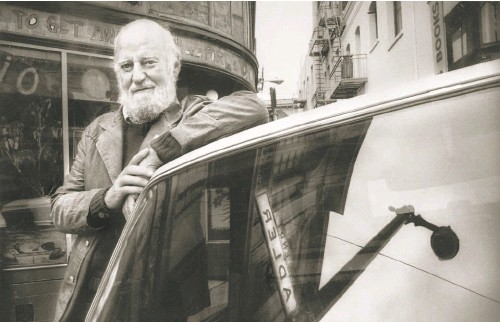 """?? Scott Sommerdorf / The Chronicle 1987 ?? Lawrence Ferlinghetti was an essential supporter of the Beat movement, but he insisted, """"I never was a Beat."""""""