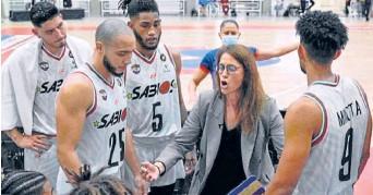 ?? Foto I DPB ?? Anna Montañana, la entrenadora de Sabios en la Liga I. Contó ayer que aún no le pagan.