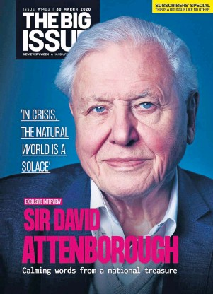 ??  ?? IN PRAISE OF NATURE: Sir David said nature allows us to breathe and eat – to exist