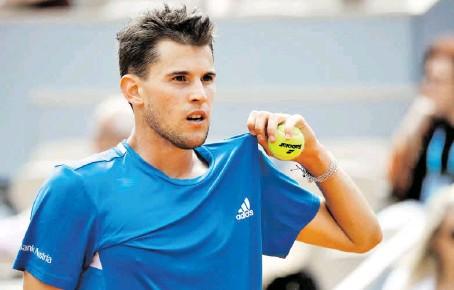 ?? BILD: SN/GEPA PICTURES/MATTHIAS HAUER ?? Unter schlechten Vorzeichen startet Dominic Thiem in die US Open.