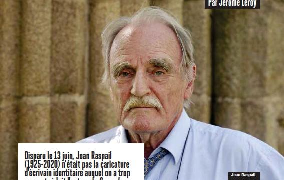 ??  ?? Jean Raspail.