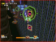 ??  ?? » [Dreamcast] Flying allows Tails to take shortcuts, keeping him one step ahead of whoever he's racing at the time.