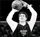 ?? By Derick E. Hingle, US Presswire ?? Big game, not easy: Jimmer Fredette leads BYU against No. 2 seed Florida today in NewOrleans.