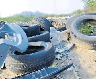 ??  ?? Los neumáticos están hechos de un 19% de caucho natural y un 24% de caucho sintético.