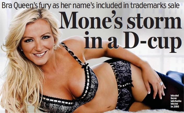 ??  ?? Model boss: Michelle Mone in 2010