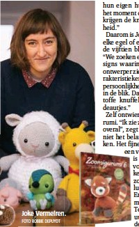 ?? FOTO ROBBIE DEPUYDT ?? Joke Vermeiren.