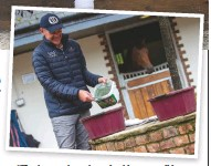 """??  ?? """"The horses have been looking so well in the past eight months of working with NAF,"""" says head groom Alan Davies"""