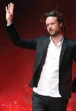 ?? KEVIN WINTER/GETTY IMAGES ?? Musician Father John Misty performs at Massey Hall on Monday.