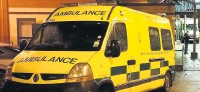 ??  ?? The wintry weather has kept North West ambulances busy