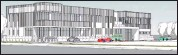 ??  ?? An artist's impression of the proposed new medical facility. The project's first stage will be the ground floor day one of operation with the second stage to two-storey to follow.
