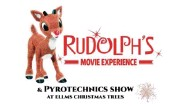 ?? IMAGE PROVIDED ?? Ellms Christmas Trees will present a new2020holiday season event called Rudolph's Movie Experience and Pyrotechnics Show.