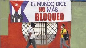 ??  ?? Votación. La votación de la resolución anual que condena el embargo se hace desde 1992. Sin embargo, esta no tiene carácter vinculante.