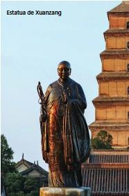 ??  ?? Estatua de Xuanzang