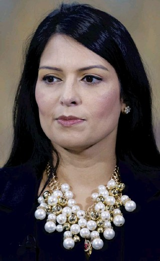 ??  ?? Priti Patel is hanging on to her job but Boris Johnson's decision to back his Home Secretary sparked the resignation of the government's standards adviser