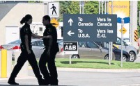 ?? DARRYL DYCK THE CANADIAN PRESS FILE PHOTO ?? If you are travelling to the U.S. for any length of time, you must be aware of the potential tax implications, Gordon Pape writes.