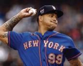?? ADAM HUNGER AP ?? Mets starter Taijuan Walker dominated the host Yankees on Saturday. The Mets won 8-3.