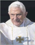 ?? 2014 File Photo ?? Pope Emeritus Benedict XVI had remained quiet on issues facing the church since abdicating the papacy six years ago.
